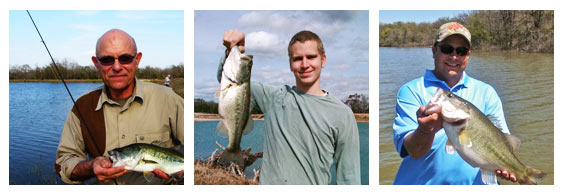 Fantastic fishing in Texas is waiting for you at V-Bharre Ranch!